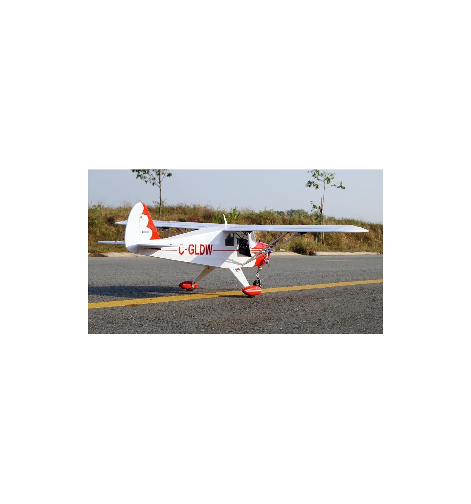Avión RC Piper PA-22 Tri-Pacer EP-GP 1620mm  VQ Models (ARF)