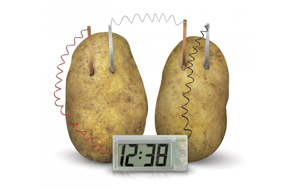 Kit de Reloj Digital de Patatas 4M