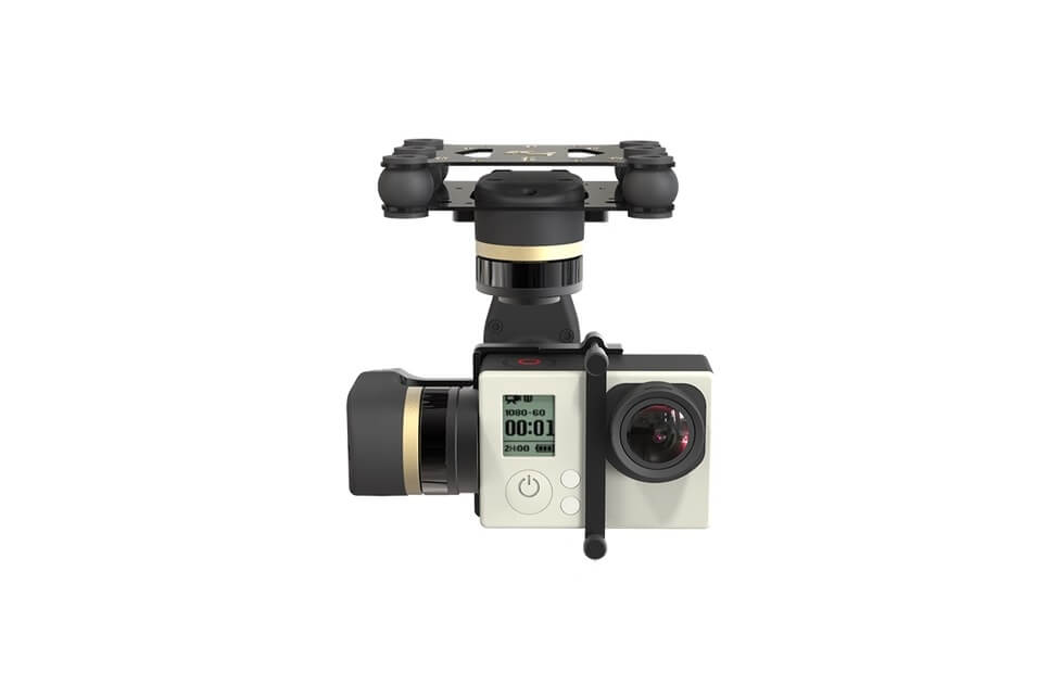 Gimbal Brushless Mini 3D (3 Ejes) para GoPro 4/3+/3