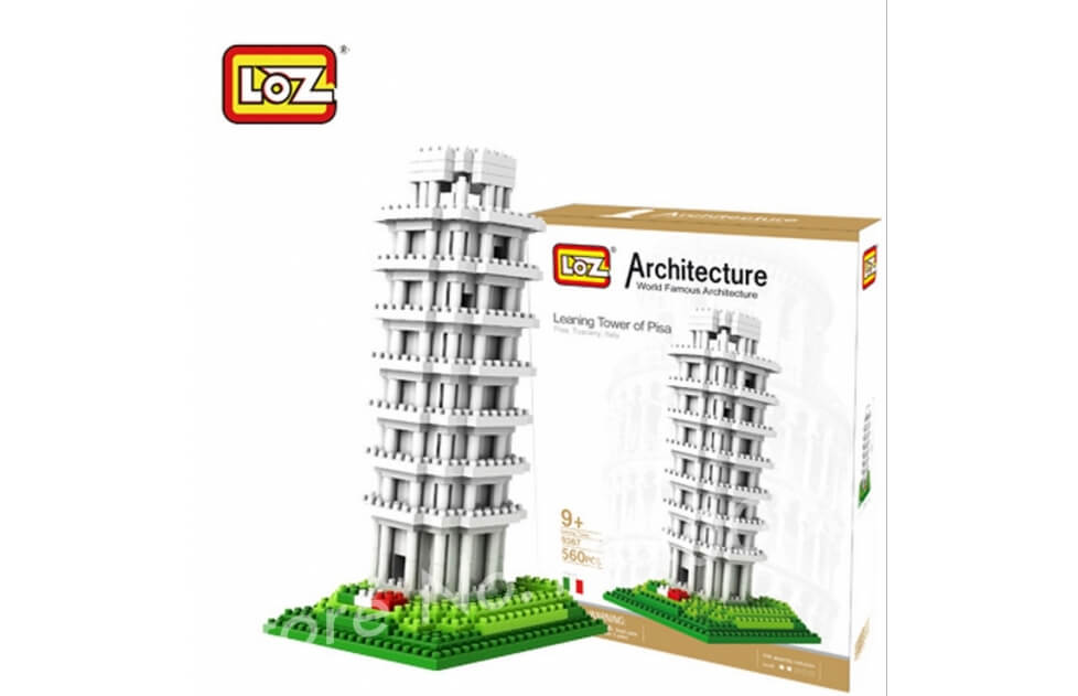 Tower Of Pisa - Nano Blocks de Construcción LOZ