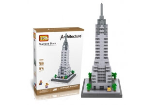 Chrysler Building - Nano Blocks de Construcción LOZ