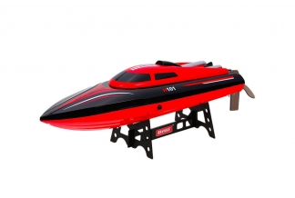 Lancha Rc H101 Red High Speed - 30 km/h
