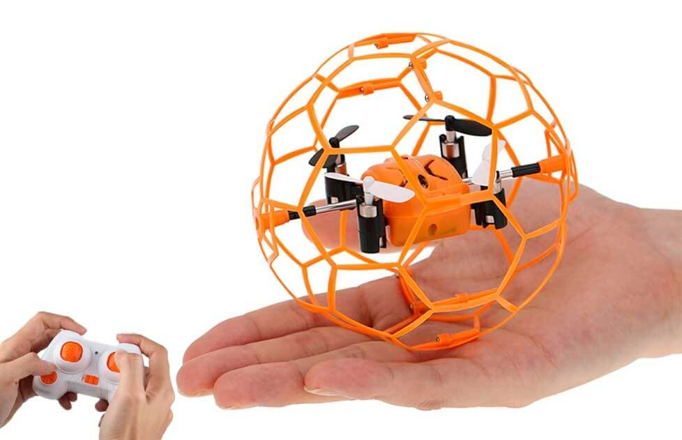 Mini Drone Pelota ¡Casi Irrompible!